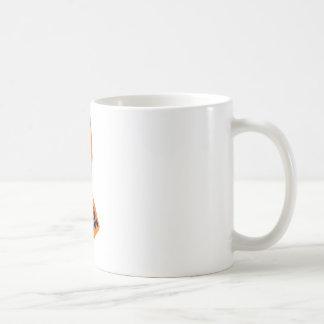 Conciencia anaranjada de la cinta taza