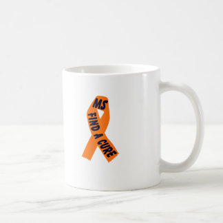 Conciencia anaranjada de la cinta taza clásica