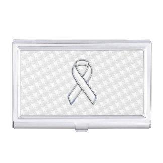 Conciencia blanca de la cinta en la impresión de caja de tarjetas de negocios