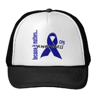 Conciencia crónica del síndrome del cansancio del  gorras