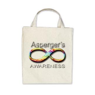 Conciencia de Aspergers Bolsa De Mano