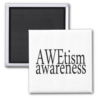 Conciencia de AWEtism Imanes De Nevera