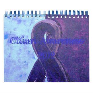 Conciencia de Chiari Calendario De Pared