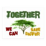 Conciencia de Darfur Postales