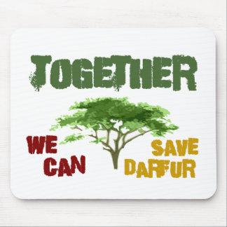 Conciencia de Darfur Tapete De Ratones