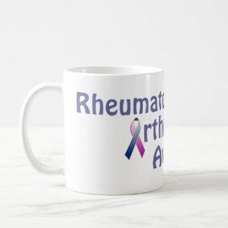 Conciencia de la artritis reumatoide taza