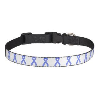 Conciencia de la ayuda de Blue Ribbon Collar De Perro