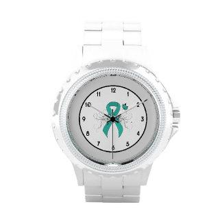 Conciencia de la ayuda de la cinta del trullo relojes de pulsera