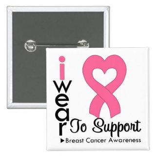 Conciencia de la cinta del corazón del cáncer de p pins