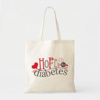 Conciencia de la diabetes bolsa tela barata
