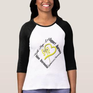 Conciencia de la endometriosis de la mariposa del t-shirts