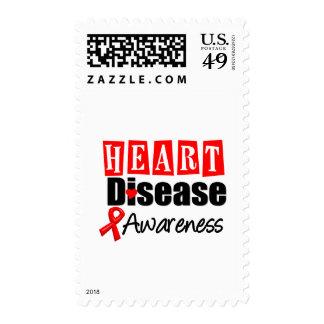Conciencia de la enfermedad cardíaca sellos