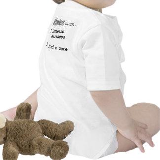 Conciencia de la enfermedad de Hirschsprung Trajes De Bebé