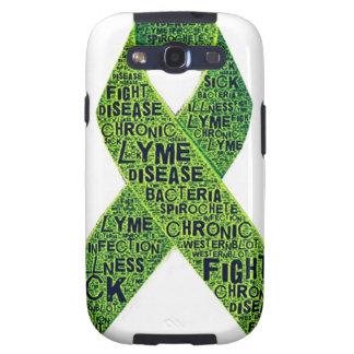 Conciencia de la enfermedad de Lyme Galaxy S3 Funda