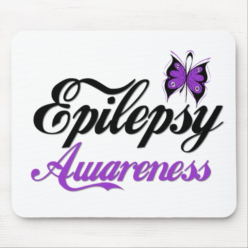 Conciencia de la epilepsia alfombrilla de ratones