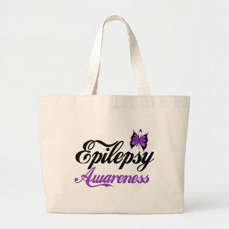 Conciencia de la epilepsia bolsas de mano