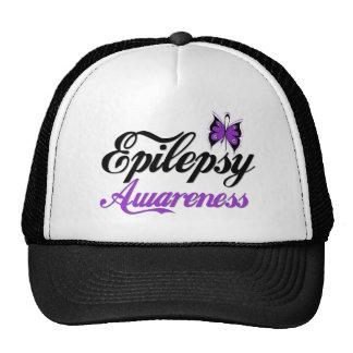 Conciencia de la epilepsia gorras