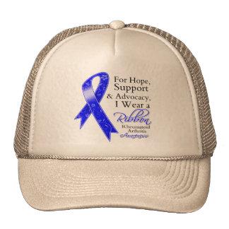 Conciencia de la esperanza de la ayuda de la artri gorra