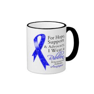 Conciencia de la esperanza de la ayuda de la artri tazas