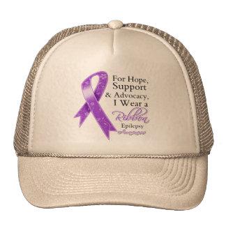 Conciencia de la esperanza de la ayuda de la epile gorras de camionero