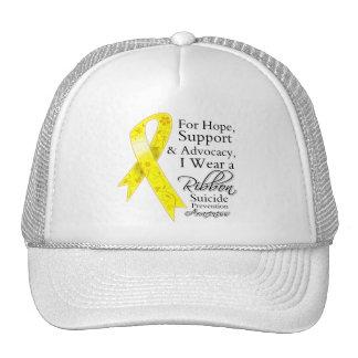Conciencia de la esperanza de la ayuda de la preve gorras de camionero