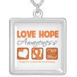 Conciencia de la esperanza del amor de la leucemia joyerías