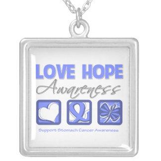 Conciencia de la esperanza del amor del cáncer de  grímpola