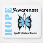 Conciencia de la esperanza del cáncer de próstata tapetes de ratones