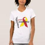 Conciencia de la hepatitis C Camisetas