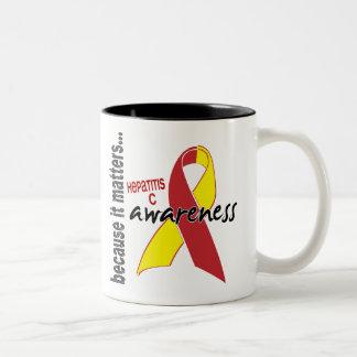Conciencia de la hepatitis C Tazas De Café