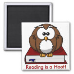 Conciencia de la instrucción: La lectura es un pit Iman Para Frigorífico