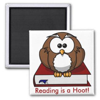 Conciencia de la instrucción La lectura es un pit Iman Para Frigorífico