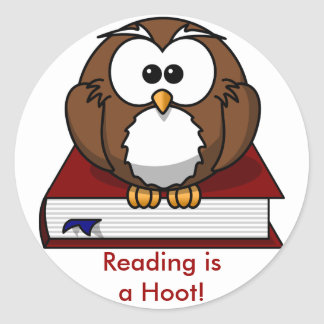 Conciencia de la instrucción La lectura es un pit Pegatina