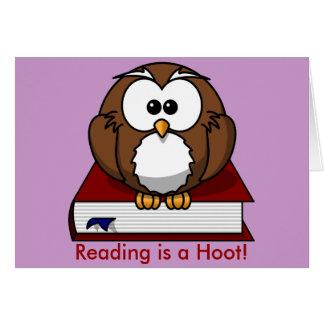 Conciencia de la instrucción La lectura es un pit Tarjetas