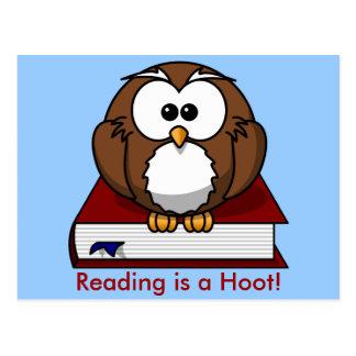 Conciencia de la instrucción La lectura es un pit Tarjeta Postal