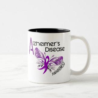 Conciencia de la MARIPOSA 3 de la enfermedad de Taza De Dos Tonos