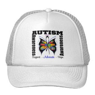 Conciencia de la mariposa - autismo gorro