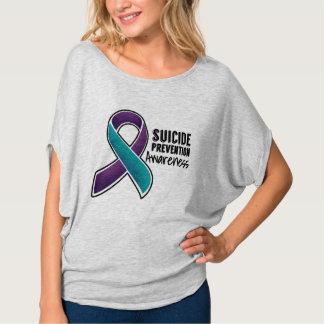 Conciencia de la prevención del suicidio remera