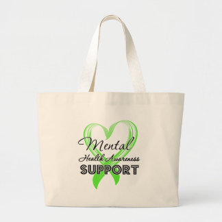 Conciencia de la salud mental - ayuda bolsas de mano