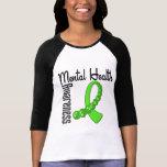 Conciencia de la salud mental camisetas