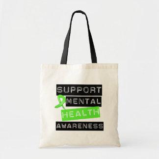 Conciencia de la salud mental de la ayuda bolsas
