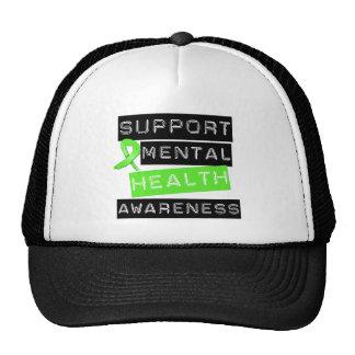 Conciencia de la salud mental de la ayuda gorra
