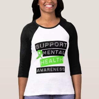Conciencia de la salud mental de la ayuda remera