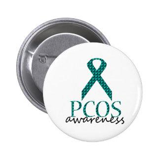 Conciencia de PCOS Pin Redondo 5 Cm