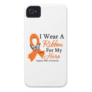 Conciencia de RSD llevo una cinta para mi héroe iPhone 4 Case-Mate Cobertura