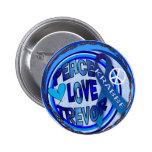 Conciencia de Trevor Krabbe del amor de la paz Pin