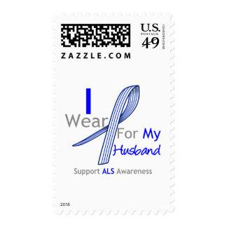 Conciencia del ALS llevo la cinta del ALS para mi Franqueo