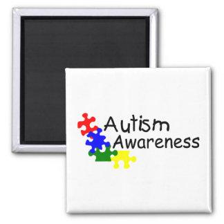 Conciencia del autismo (4 PP) Imán De Frigorifico