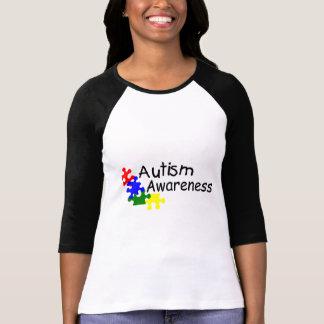 Conciencia del autismo (4 PP) Playera