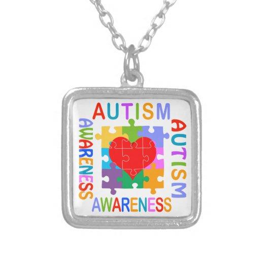 Conciencia del autismo colgante personalizado